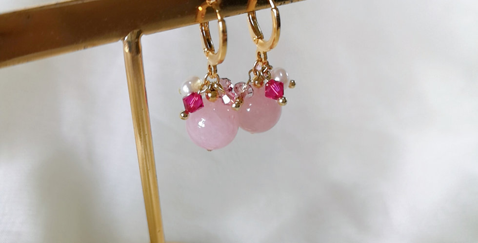 CRYSTAL EARRING: ☾ May : Cuffs - 12 ☾