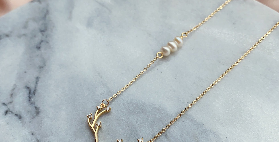 CRYSTAL NECKLACE: ❆⛄ CHRISTMAS SERIES⛄❆ -4
