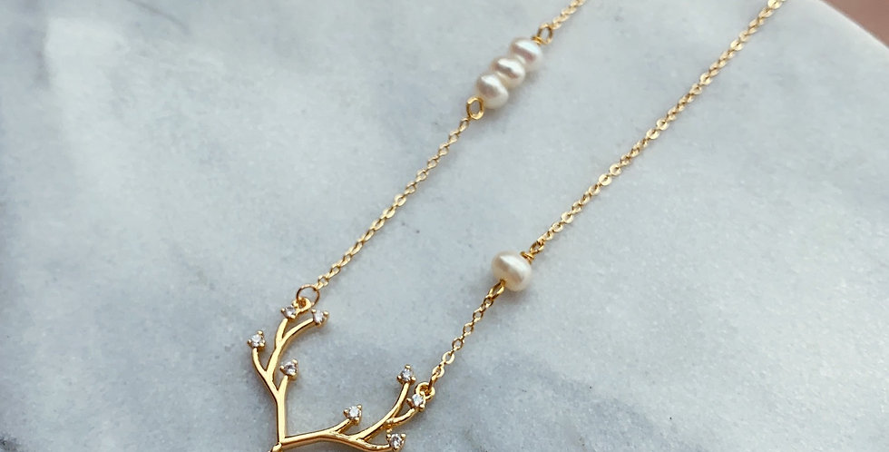 CRYSTAL NECKLACE: ❆⛄ CHRISTMAS SERIES⛄❆ - 3