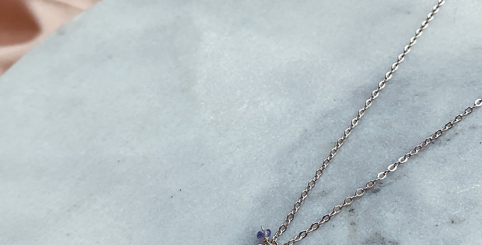 CRYSTAL NECKLACE: ❆⛄ CHRISTMAS SERIES⛄❆ - 1