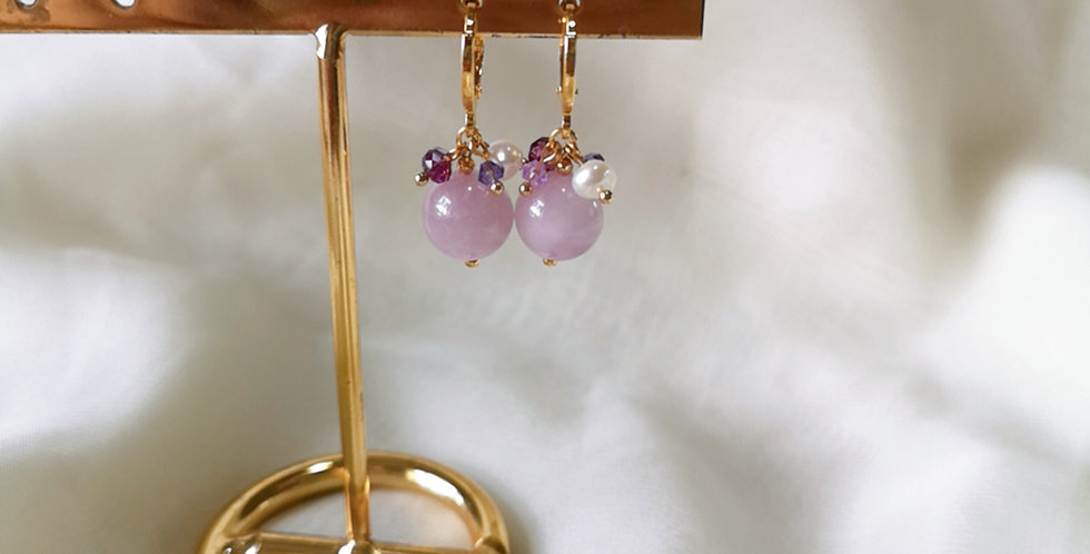 CRYSTAL EARRING: ☾ May : Cuffs - 11 ☾