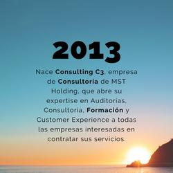 2013 - Creación Consulting C3