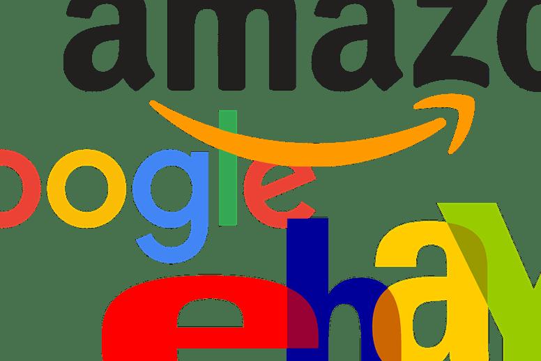 Amazon, Google, Ebay