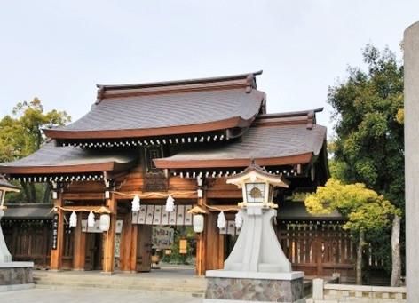 湊川神社 神能殿