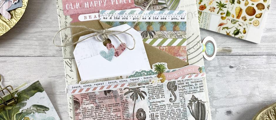 Sommer Junk Journal mit Making Of