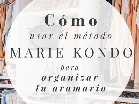Cómo usar el método Marie Kondo para organizar tu ropa