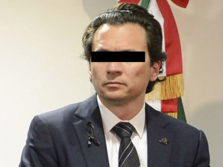 Otorgan libertad condicional a Emilio Lozoya.