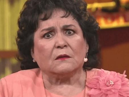 Carmen Salinas se molesta en Twitter.
