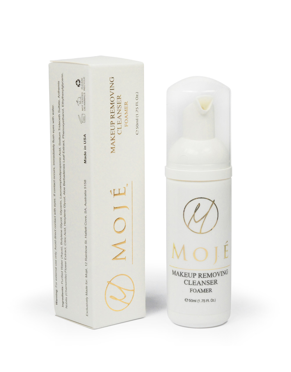 Makeup Removing Cleanser (foamer), used as an aftercare for eyelash extensions, in Gold Coast