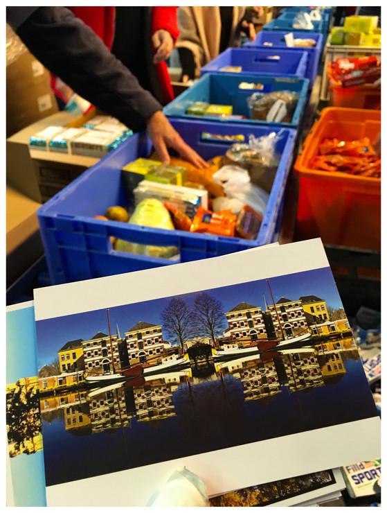 Nieuwjaarwens voor Voedselbank Gouda