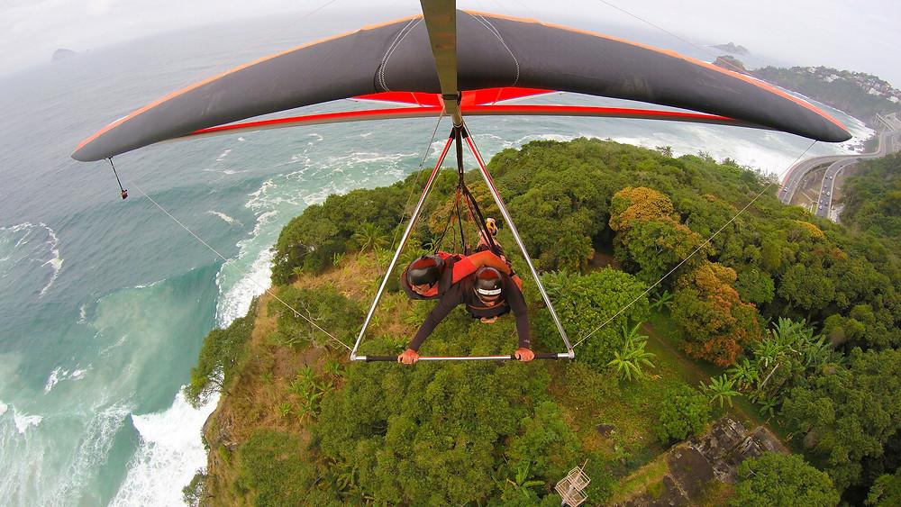 hang gliding rio