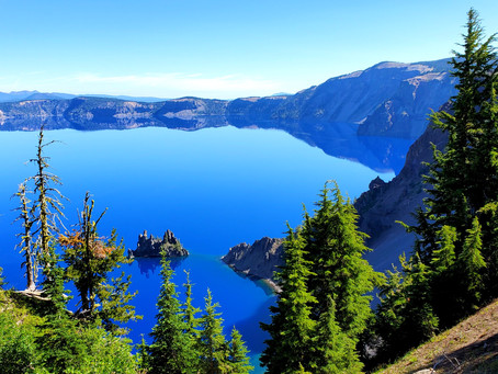 Crater Lake & Mount Rainier