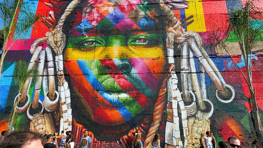 kobra olympic mural