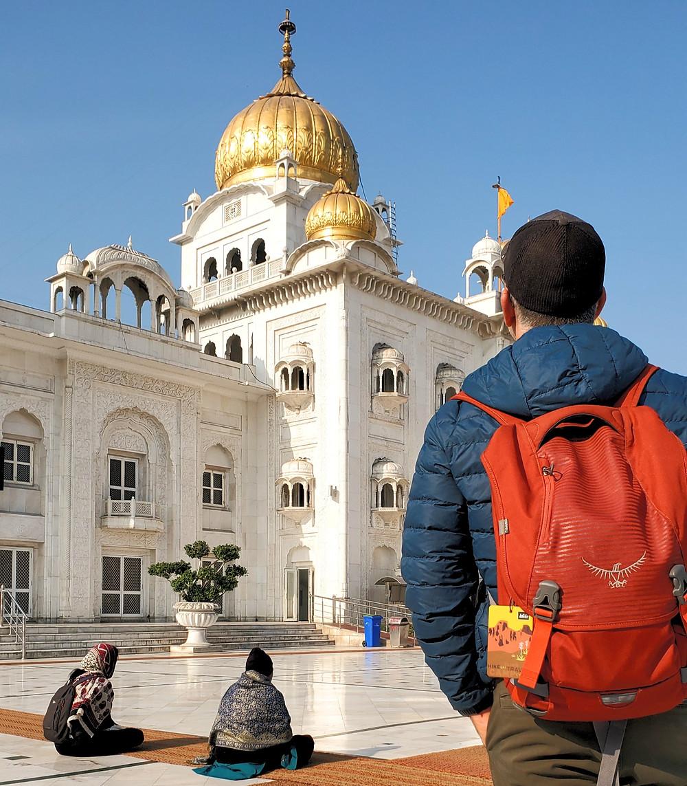 Sikh golden temple Gurdwara Bangla Sahib