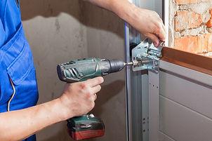Garage Door drilling.jpeg