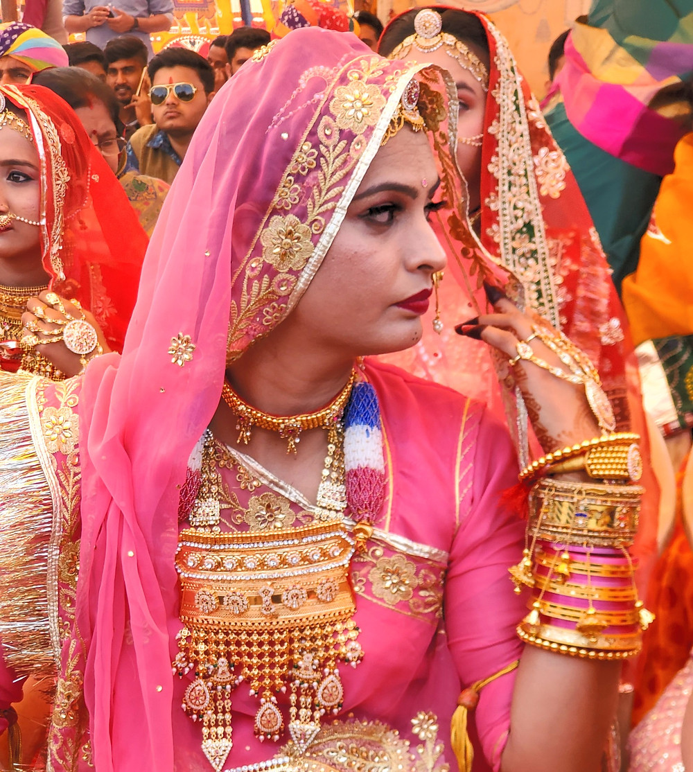 Rajasthan woman