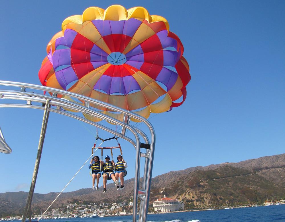 parasailing catalina island