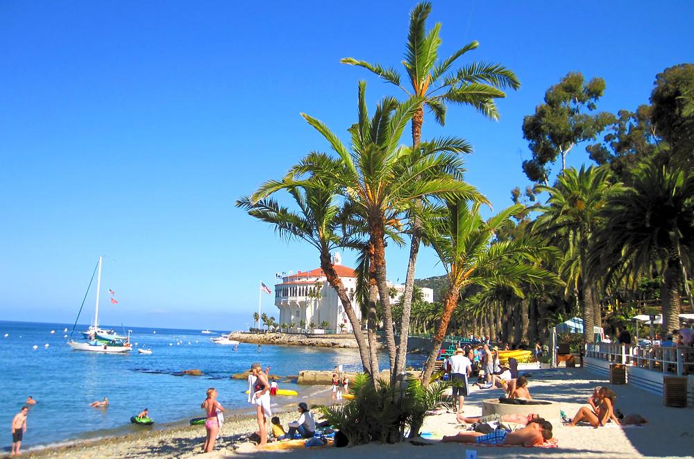 descanso beach catalina island