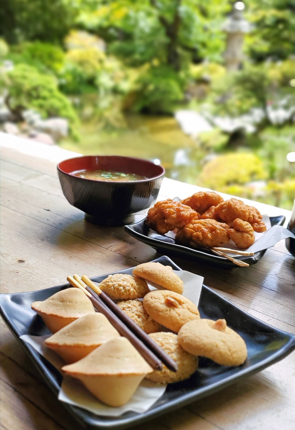 Japanese Tea Garden food