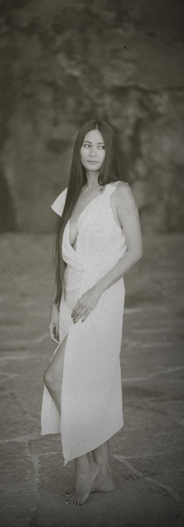 Black n White Summer Dress