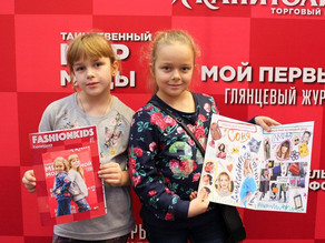 """Звезды проекта """"Fashion kids в Капитолии""""."""