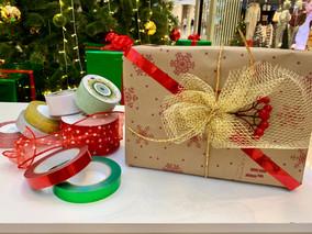 Упаковка подарков #letsshowadv