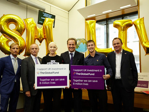 APPG's special event with Annie Lennox marks Global Fund's success