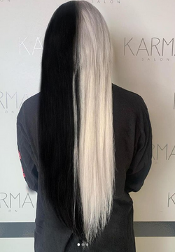 Ying & Yang weft extensions