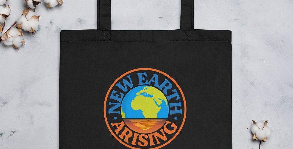 New Earth Arising Eco Tote Bag (Organic Cotton)