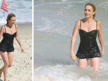 Famosas de biquíni: o estilo das celebridades na praia