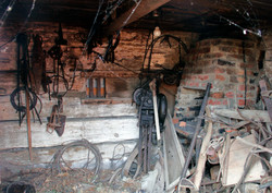 Intérieur de la forge