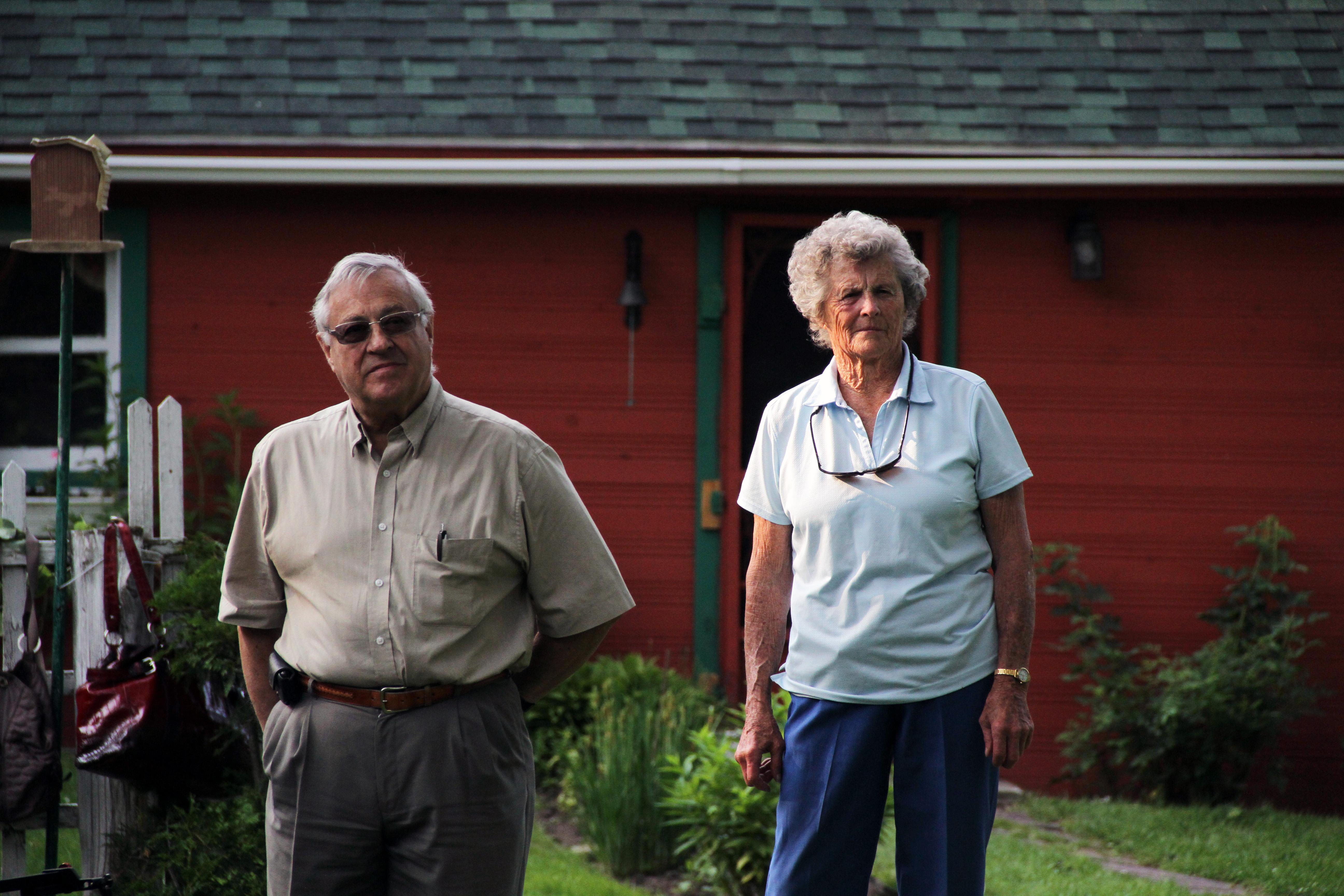 Pierre Bond et Rhoda