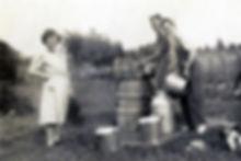 La vie sur la ferme Lamarche à Sainte-Christine