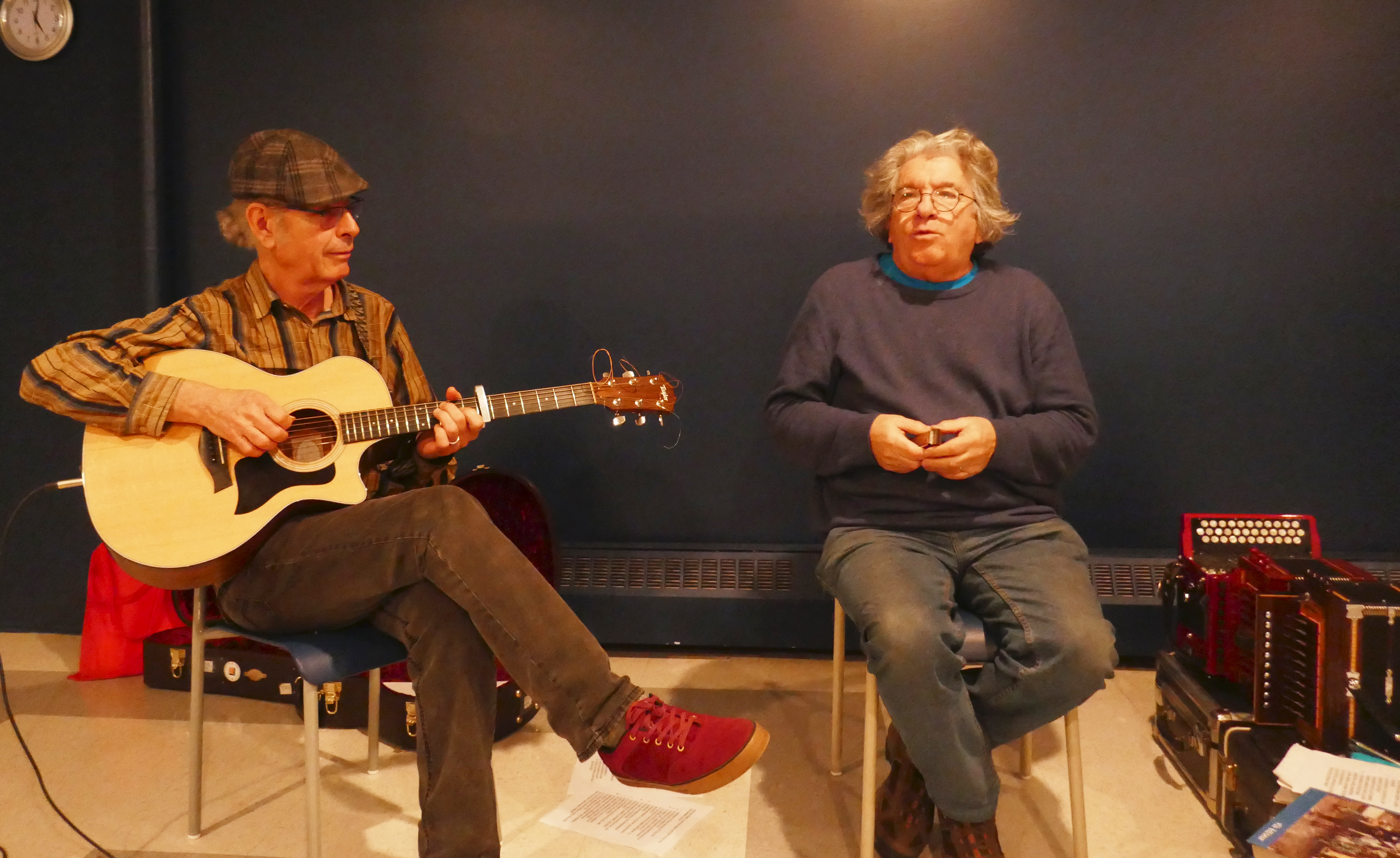 Gilles Garand et Peter Senn