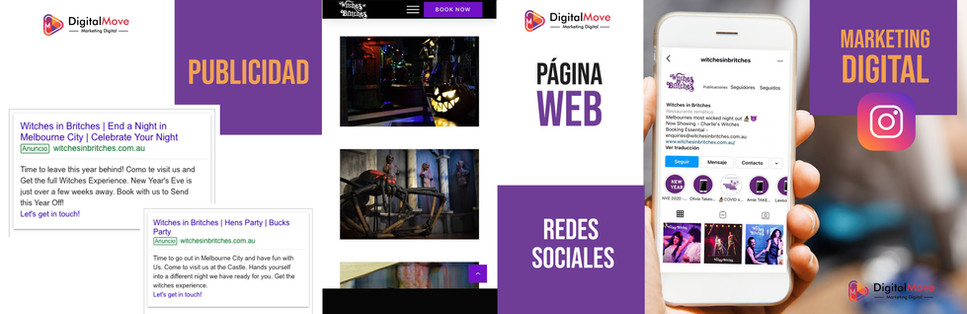 Digital Move para Witches In Britches