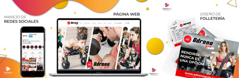 Digital Move para Adrena Gym