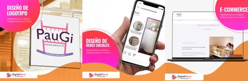 Digital Move para Amoblamientos Paugi
