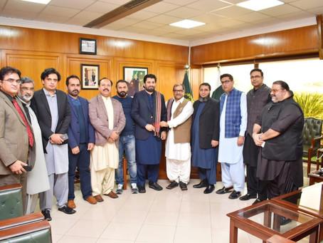 GBDA meets Speaker National Assembly, Mr. Qasim Suri