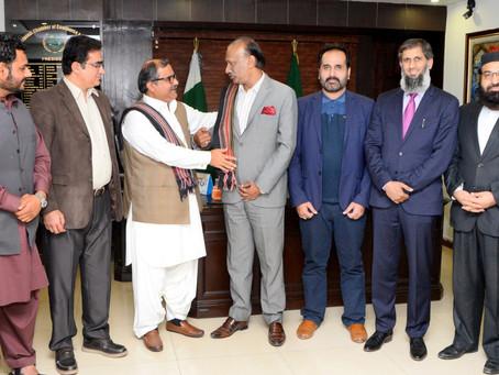 GBDA delegation meets President RCCI