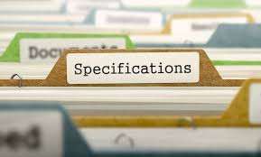 Forms of Specifications