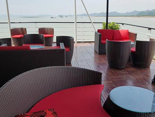 Cruzeiro em Hai Phong Bay