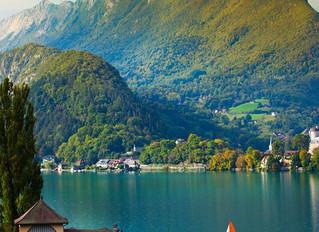 França é um país incrível: Annecy