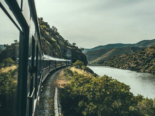 Conhecendo Portugal a bordo do Trem Presidencial de luxo!