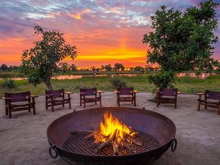 Qorokwe Camp em Botswana