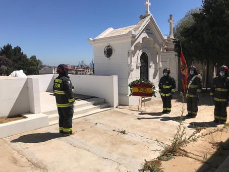 "Funerales del Bombero Honorario de la 7a Cía. ""Bomba España"" don Miguel Chousal Bosch (QEPD.)"