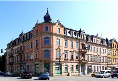 Maxim-Gorki-Straße/Königsteiner Straße Pirna
