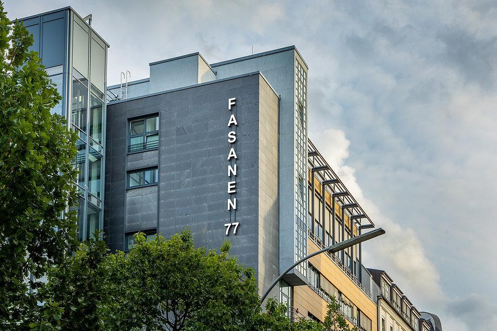 Das Büro der ML Real AG befindet sich in der Fasanenstraße 77.