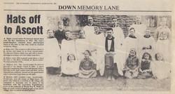 Ascott Newspaper Article - 1922