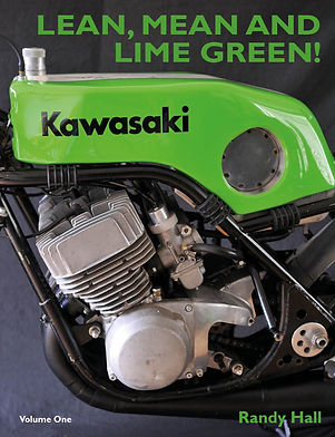 Racing with Kawasaki Front Cover- Medium
