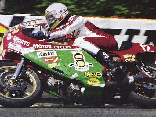 MIKE THE BIKE AT MALLORY                - IN HIS OWN WORDS